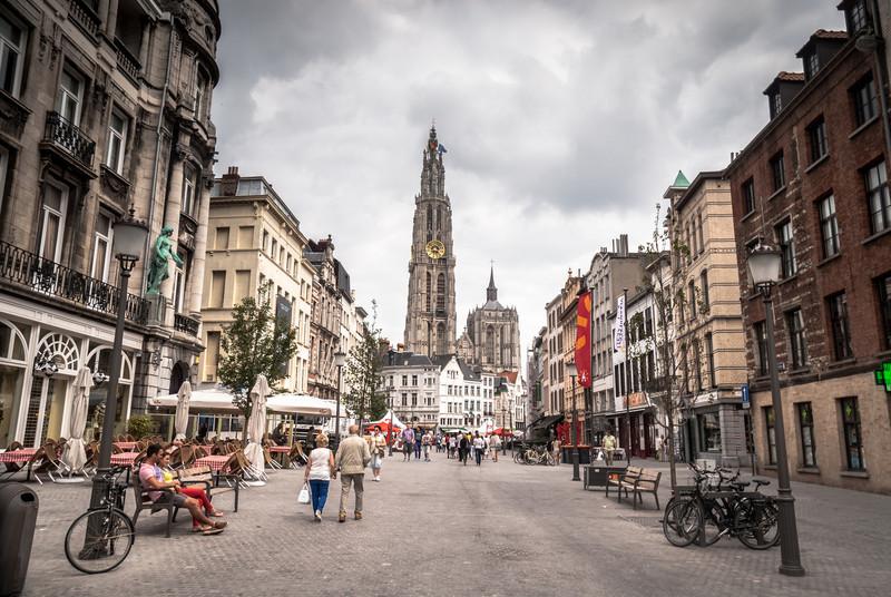 Stroll, Antwerp, Belgium