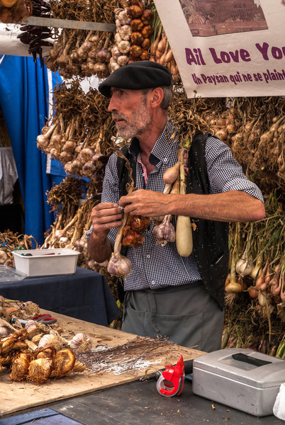 French Garlic Seller, Antwerp