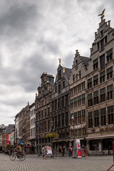 Down from the Grote Markt, Antwerp