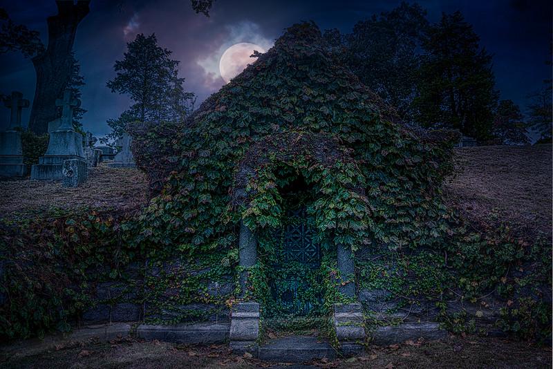 Moonlit Mausoleum
