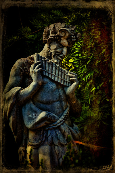 The Pagan God Pan Plays his Pipes