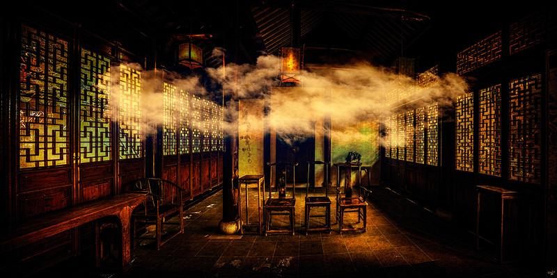 Imaginary Interior, Chinese Scholars House