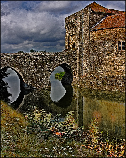 The Drawbridge and Gatehouse At Leeds Castle