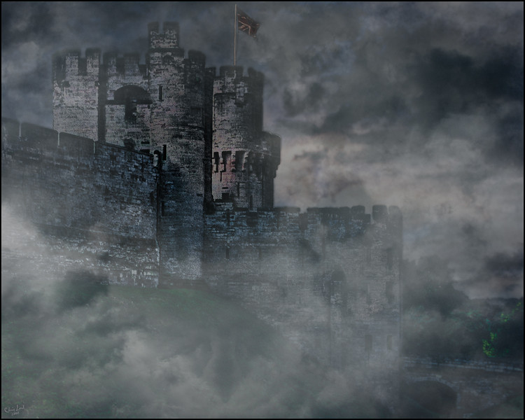 Warwick Castle Lost In The Fog Of Time