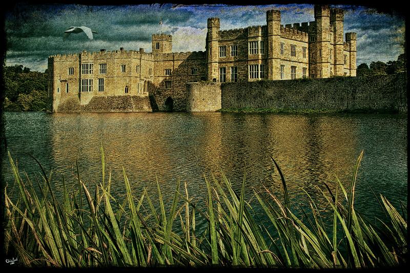 Leeds Castle Across the Moat