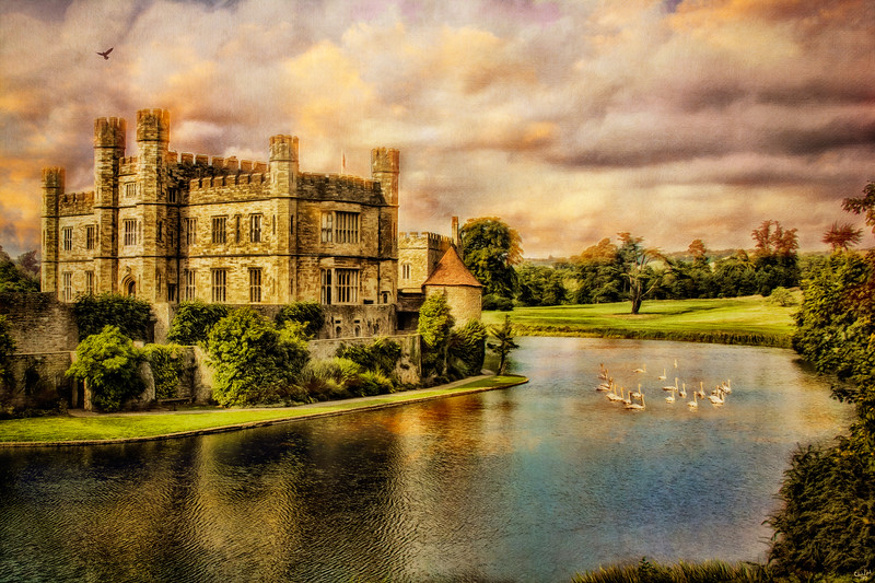 "Leeds Castle ""Paintography"" Landscape"