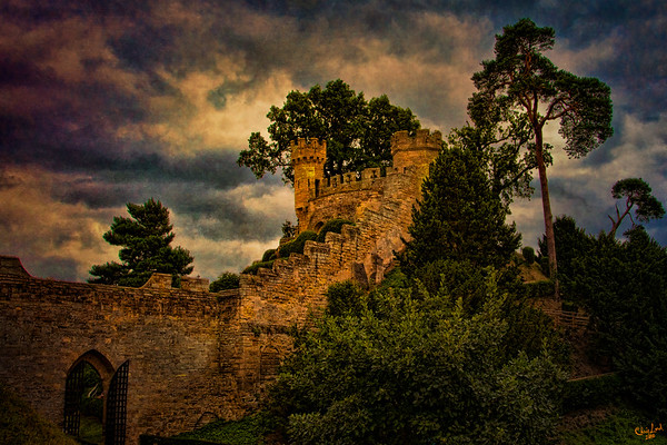 Watchtowers at Warwick Castle