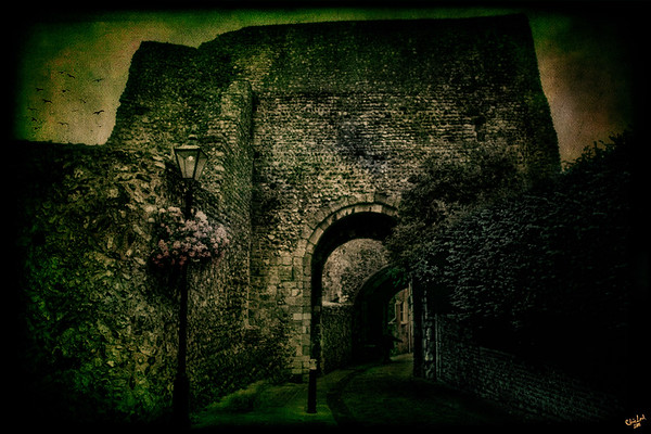 Lewes Castle Entrance