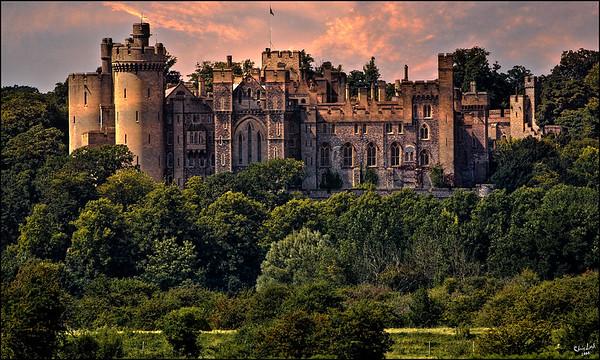 Arundel Castle Full Frontal