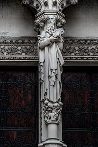 Outside Door Sculpture