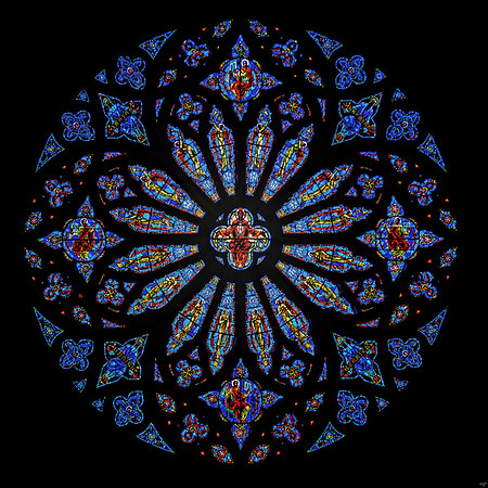 Rose Window, Cathedral of St. John the Divine