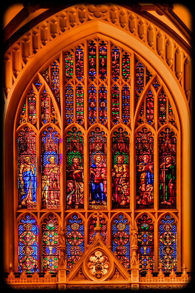 Trinity Church Stained Glass Window