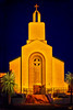 St. Spyridon, A Greek Church In The Setting Sun, San Diego