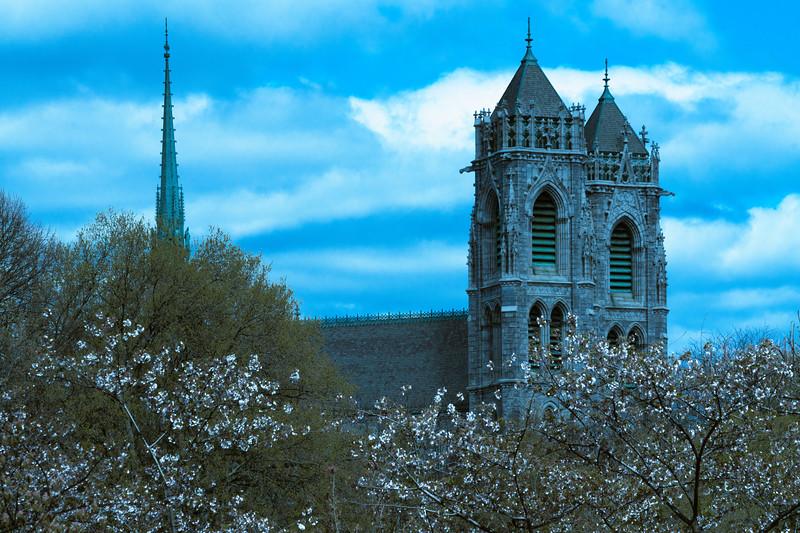 A Basilica In Spring