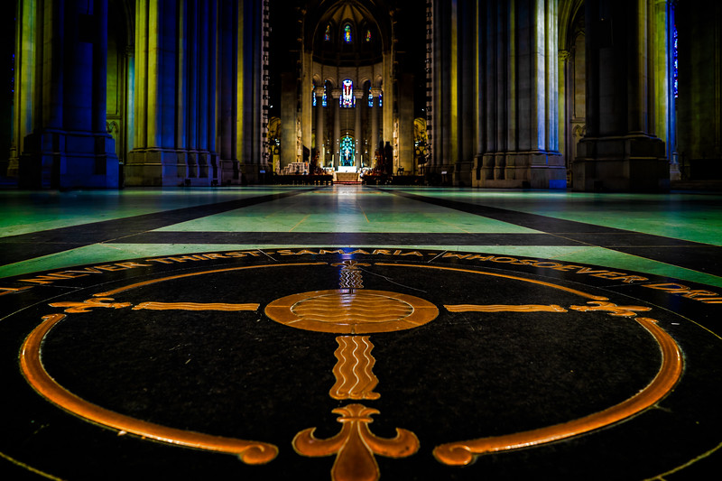 Floor At Cathedral Center