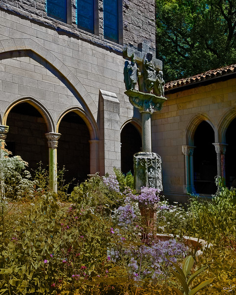 At The Cloisters, New York City