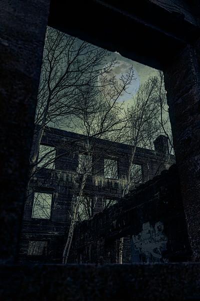 Dark Angles In Moonlight