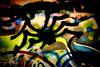 Spider Graffiti
