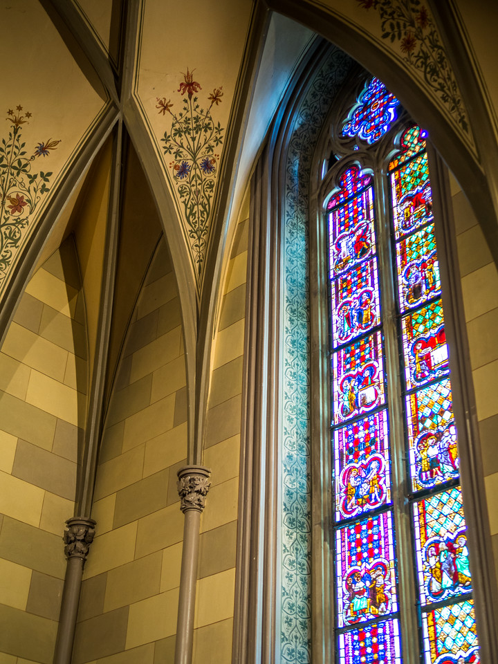 Chapel Windows, Hohenzollern Castle, Swabia