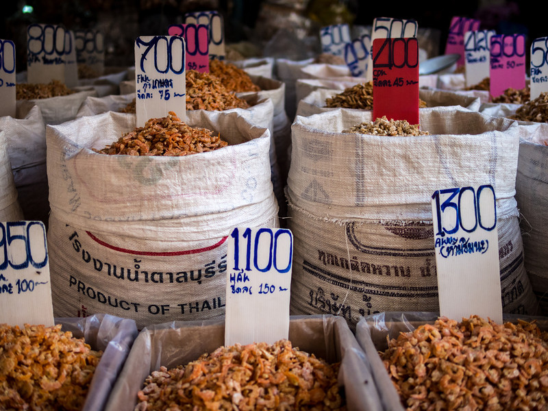 Dried Seafood, Bangkok