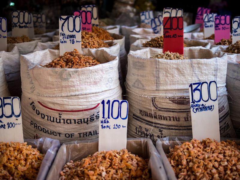 Dried Seafood, Bangkok