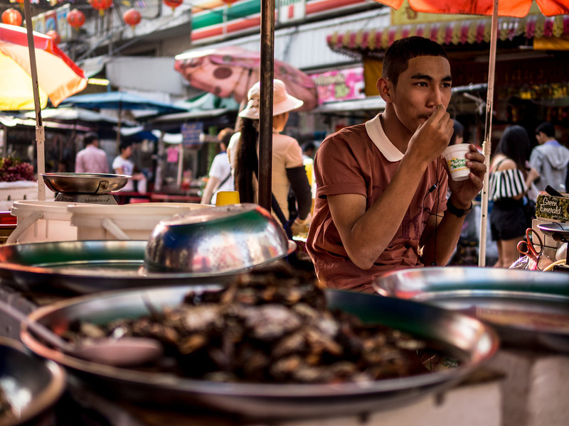 Food Seller, Bangkok
