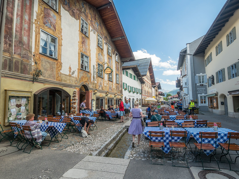 Bavarian Restaurant, Mittenwald, Germany