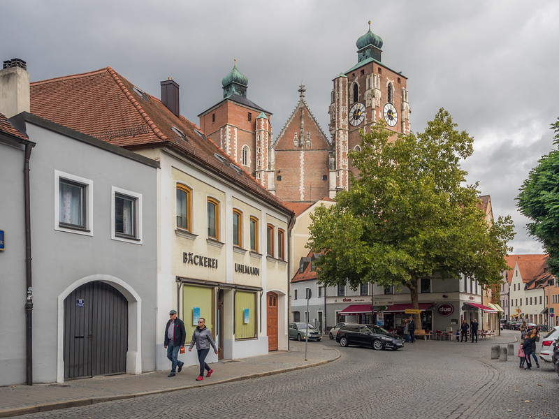 Entering the Old Town, Ingolstadt, Germany