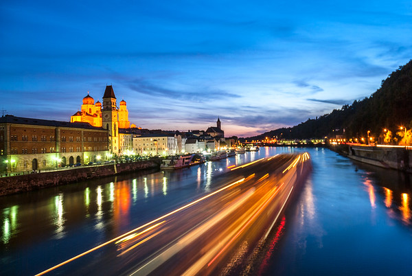 Danube Cruising, Passau, Germany