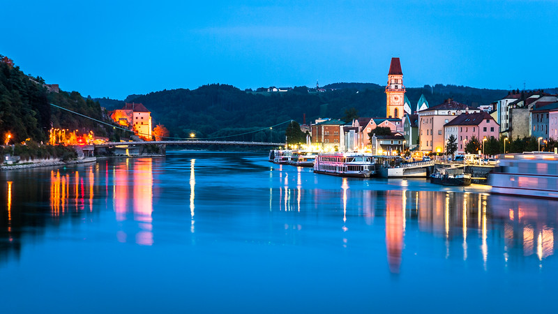 Night on the Danube, Passau