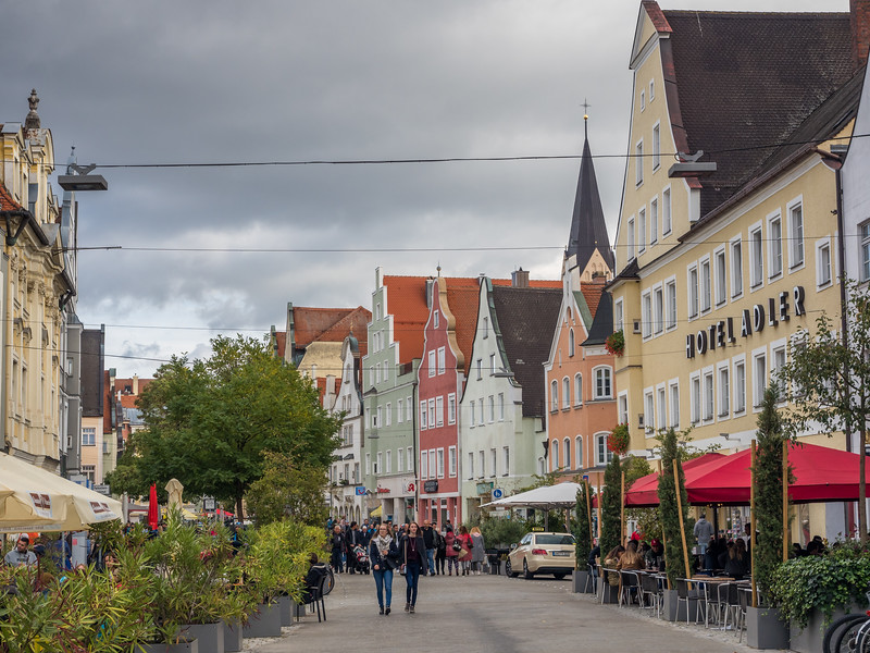 Old Town Streets, Ingolstadt, Germany