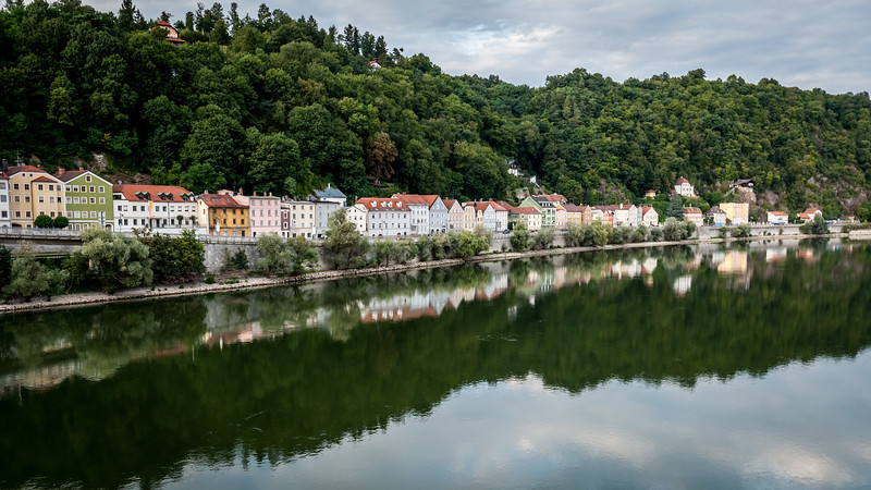 On the Banks of the Danube, Passau, Germany