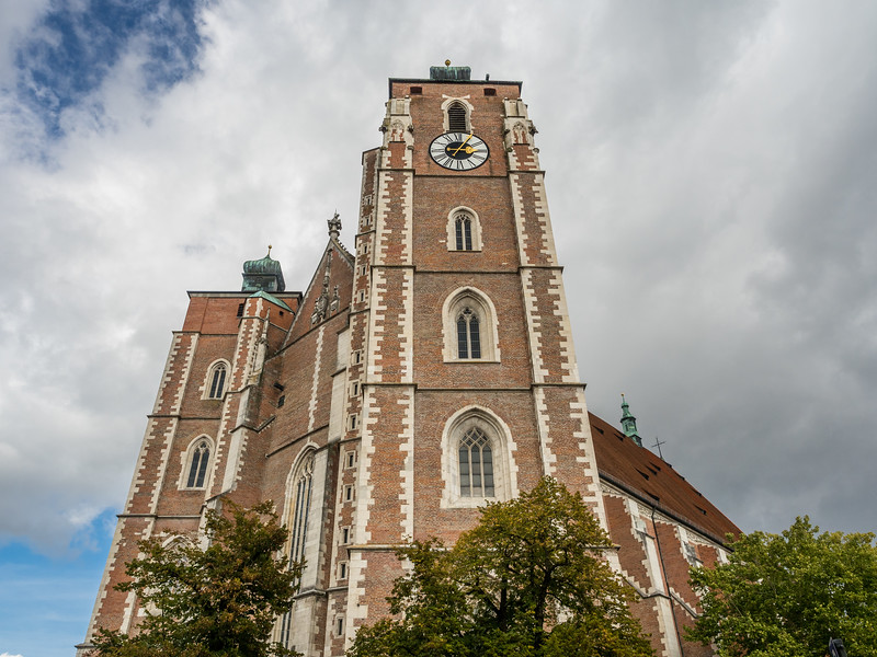 Façade of the Liebfrauenmünster, Ingolstadt, Germany