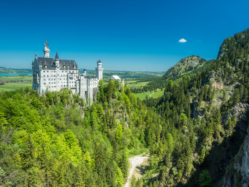 Big Castle Little Cloud, Hohenschwangau, Germany
