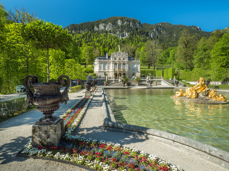 Linderhof Gardens, Germany