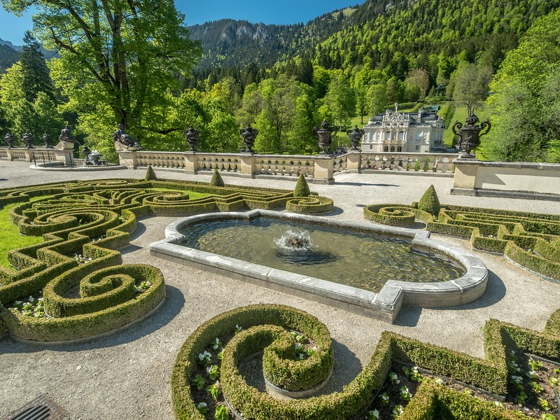 Terraces of Linderhof, Germany