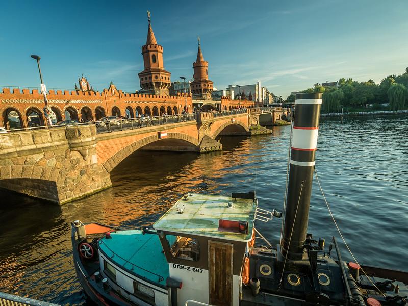 Boat and Bridge, Berlin