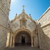Outside the Milk Grotto Chapel, Bethlehem