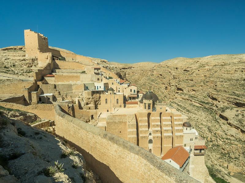 The Mar Saba Monastery, Israel