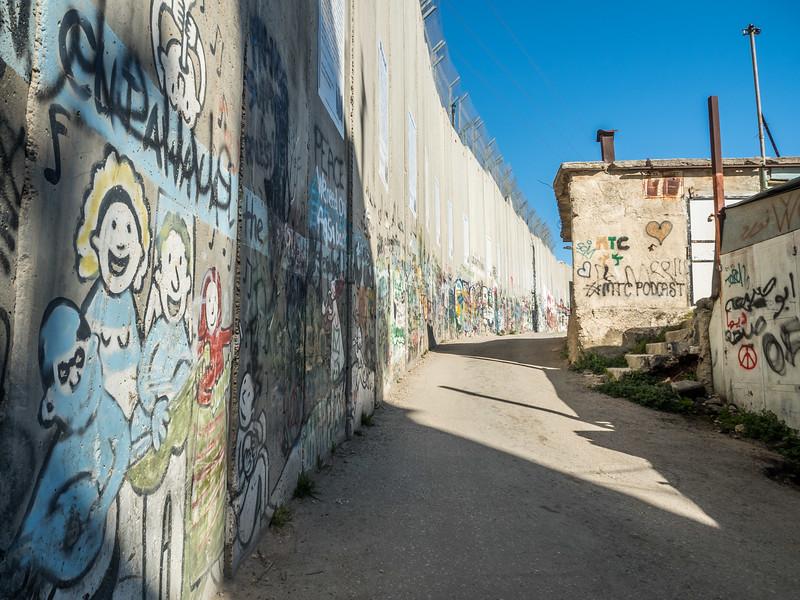 Along the Wall, Bethlehem