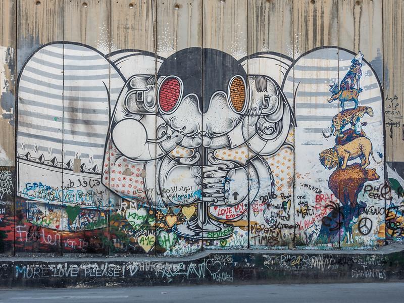 Wall Graffiti, Bethlehem
