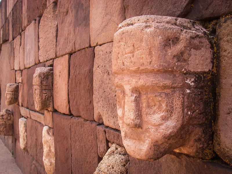 Face Carving, Tiwanacu
