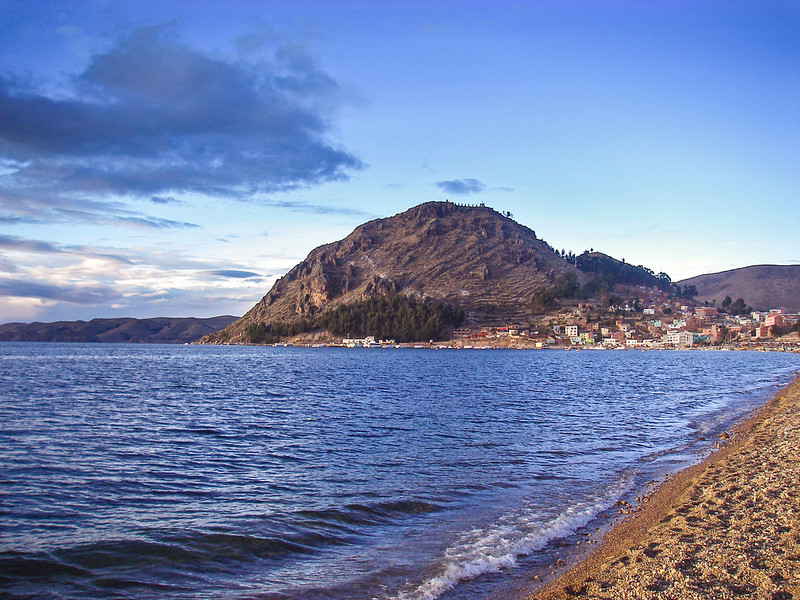 From the shores of Lake Titicaca