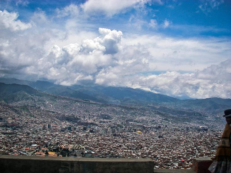 Sunny view of La Paz