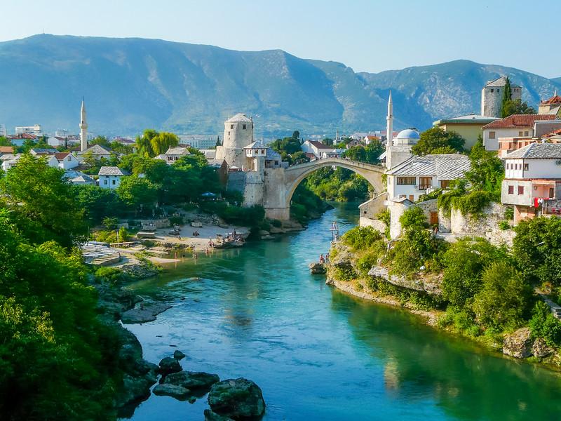 Mostar Panorama, Bosnia