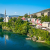 Mostar on the Neretva, Bosnia
