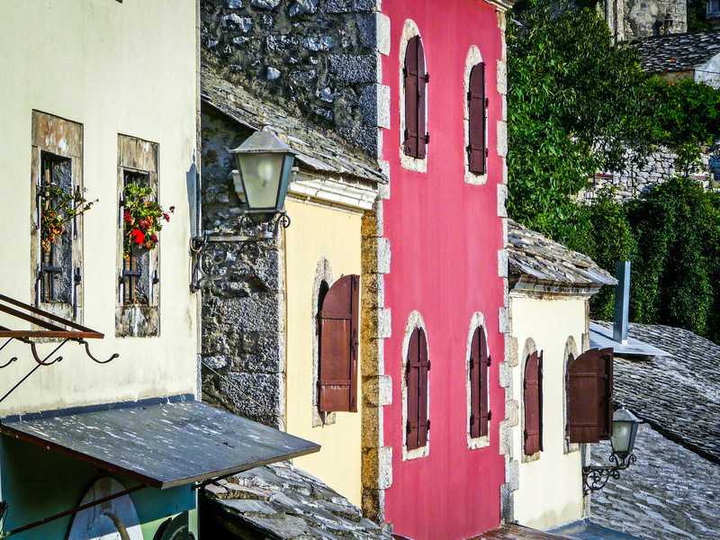 Old Windows, Mostar