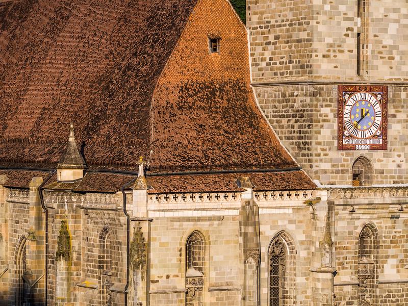 Black Church Closeup, Brașov