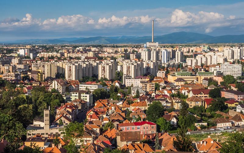 Brașov New Town Panorama