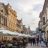 Along the Walking Street, Brașov